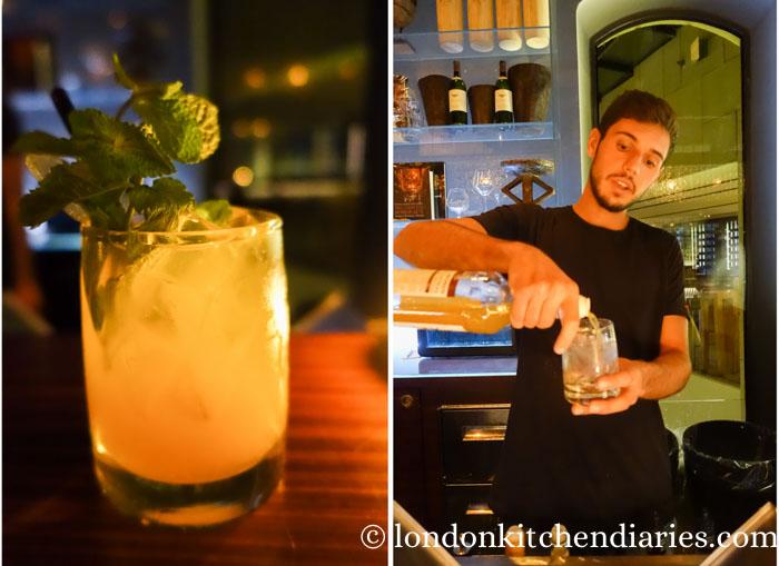 Mirror celebration cocktail