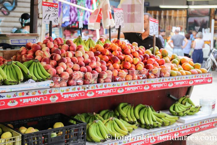 Carmel Market in Tel Aviv Israel