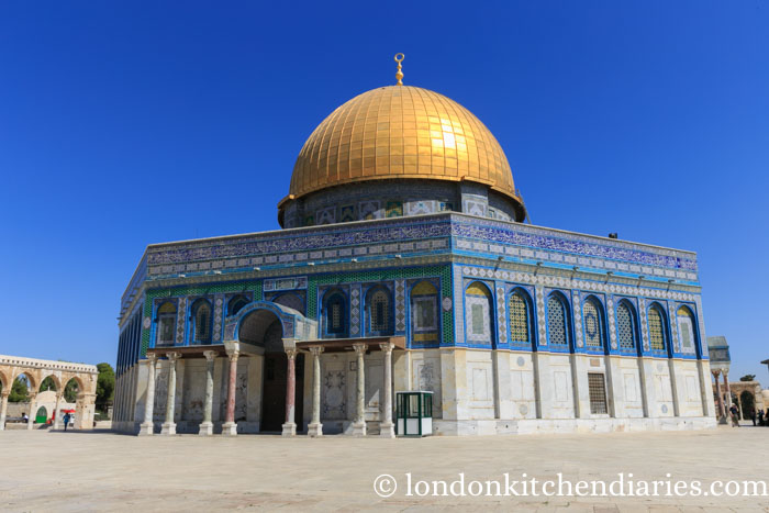 Dome of the Rock on Temple Mount in Jerusalem Israel