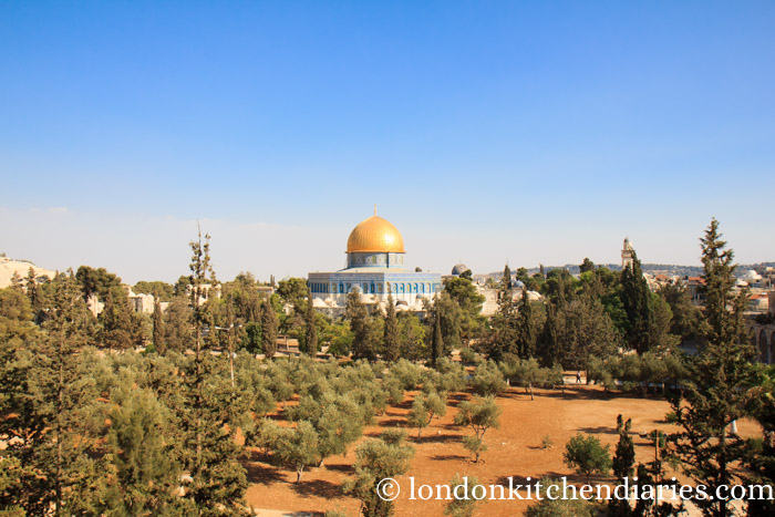 View of Dome of the Rock from muslim college