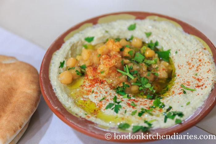 Hummus at Abu Shukri Jerusalem