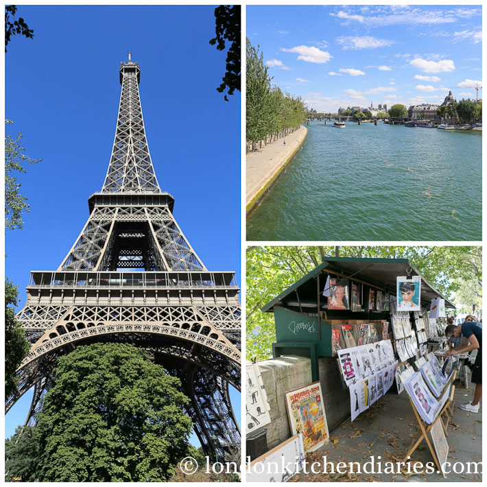 A walk along the Seine in Paris