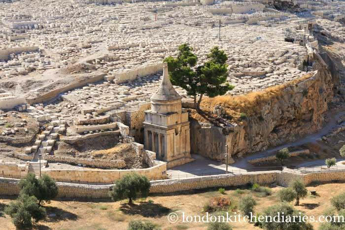 Kidron valley tomb of Absalom Jerusalem