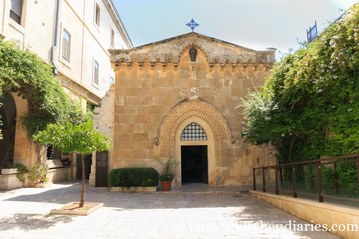 Chapel of the Flagellation Via Dolorosa Jerusalem