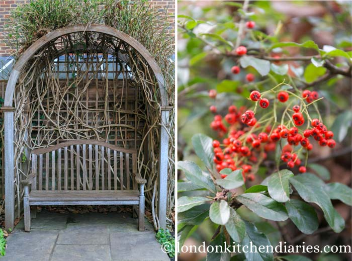 Period Gardens at the Geffrye Museum during autumn