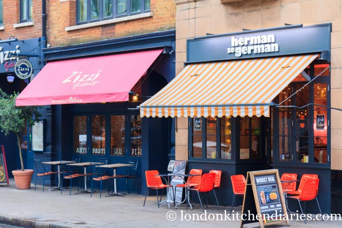 Herman ze German Fitzrovia restaurant review