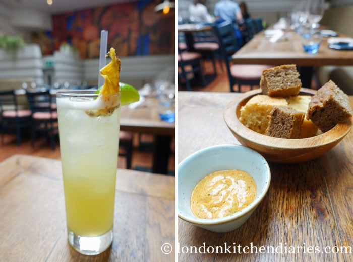 Pisco Punch Classico at LIMA Fitzrovia London