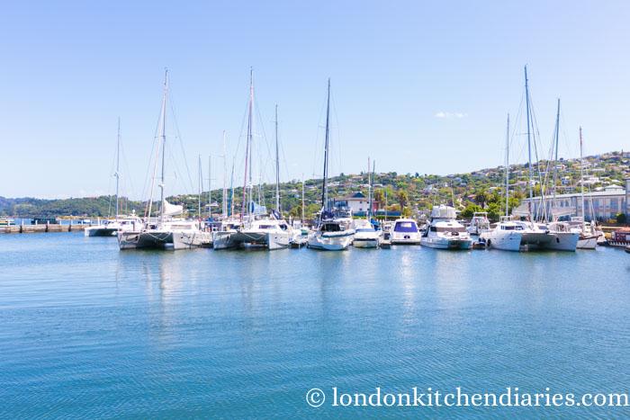 Knysna lagoon harbour