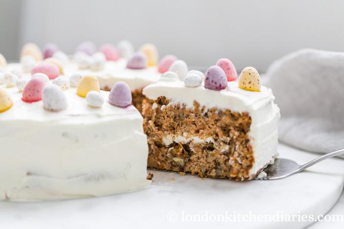 Gluten Free Easter Carrot Cake Recipe