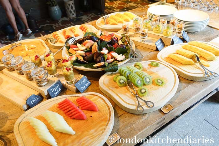 Breakfast at Six Senses Douro Valley, Portugal