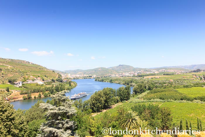 View from Reception at Six Senses Douro Valley