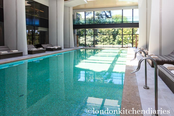 Indoor Pool at Six Senses Douro Valley, Portugal