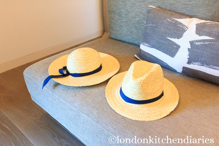 Straw Hats at Six Senses Douro Valley, Portugal