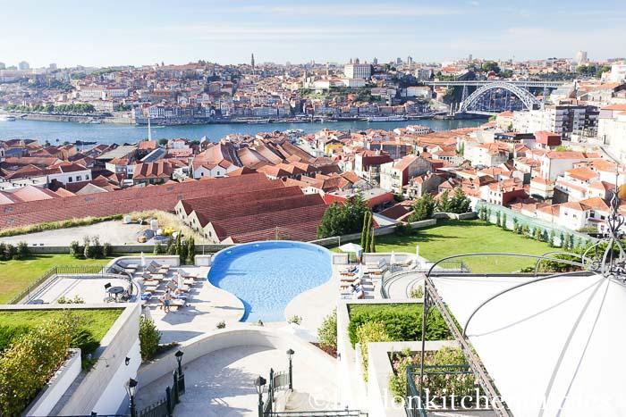 Yeatman's terrace Porto