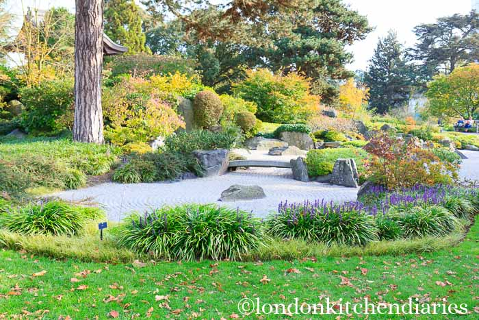 Japanese Garden in Kew Gardens London
