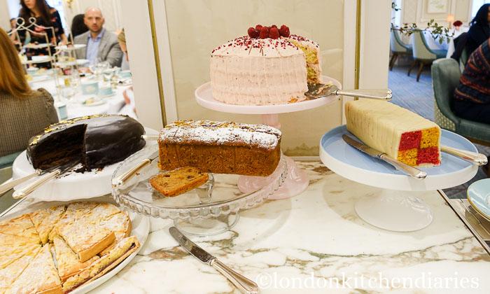 cake carriage at Fortnum & Mason London