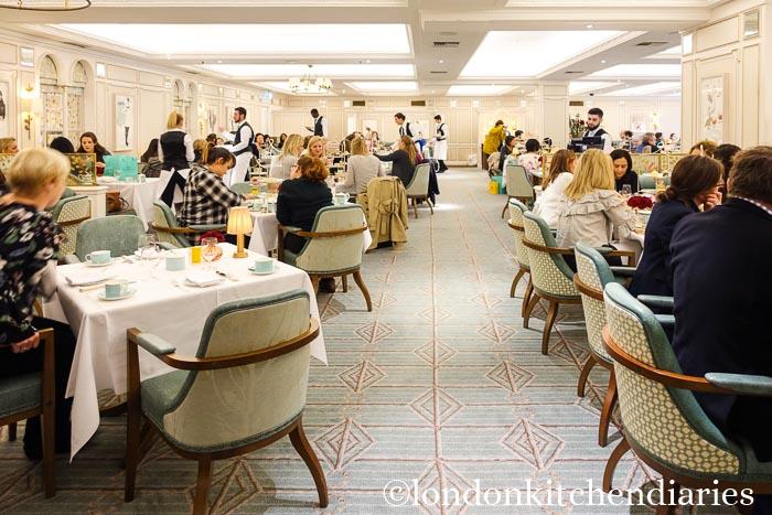 The Diamond Jubilee Tea Salon at Fortnum & Mason London
