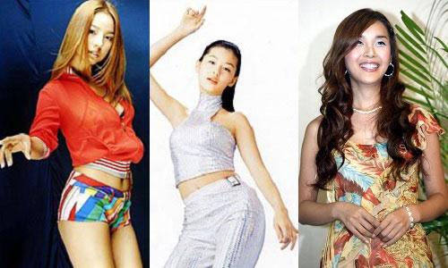 Lee Hyori, Jeon Ji-hyun and Harisu