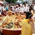Thumbnail for post: The world's biggest bibimbap?