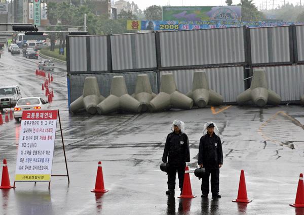 Shilla barricade