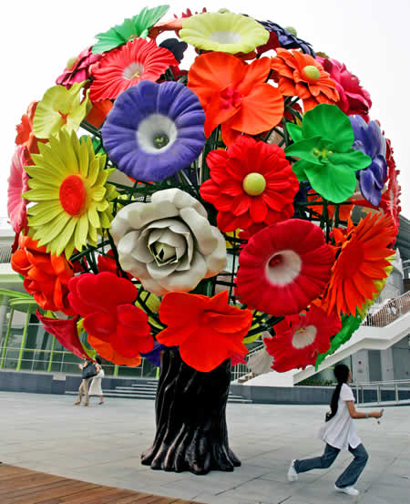Flower Tree, Singapore, by Choi Jeong-hwa