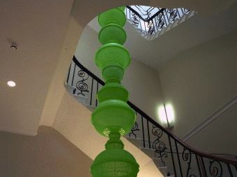 Choi Jeong-hwa's chandelier at Asia House