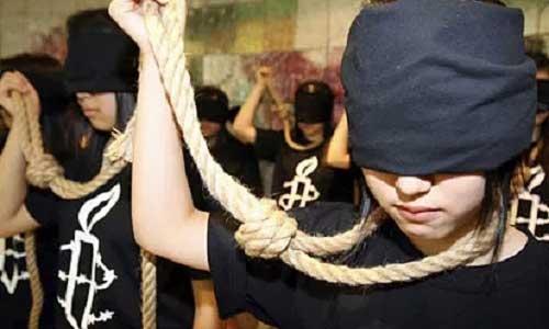 Amnesty Korea death penalty protest