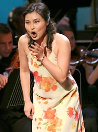 Hayoung Lee at Cardiff Singer of the Year 2005 - 2
