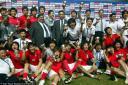 Korea celebrating third place