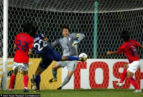 Lee Woon Jae's Miracle save against Japan
