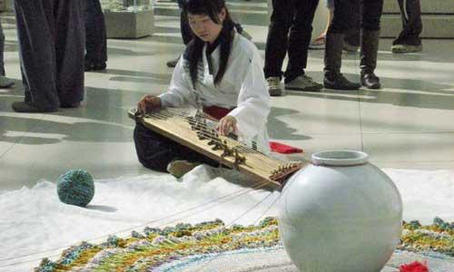 Moon Jar performance at the British Museum