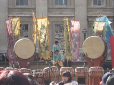 Dulsori outside the British Museum