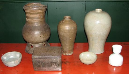 Korean ceramics for sale at David Baker Oriental Art