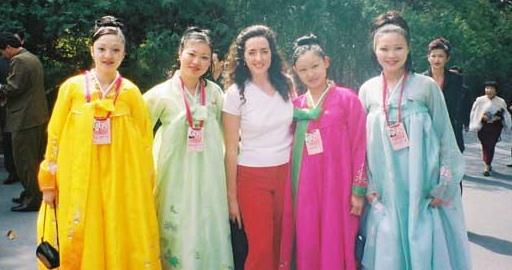 Suzannah Clarke in Pyongyang