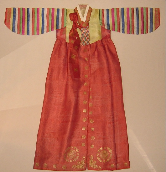 Wedding hanbok from Linda Wrigglesworth