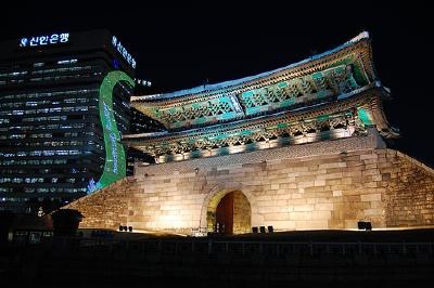 Namdaemun at night