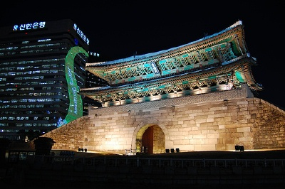 Namdaemun at night