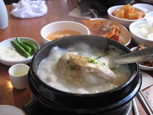 Samgyetang in Busan