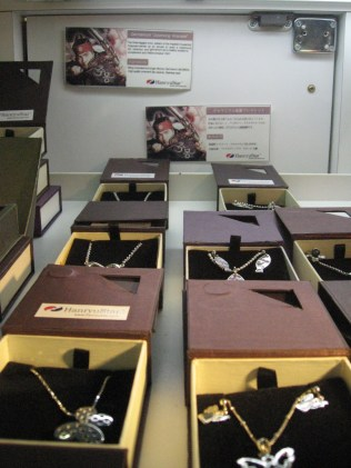 Jumong-themed trinkets at the Korean Wave Cultural Center