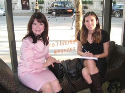 Kim Hogarth (left) with Jennifer Barclay