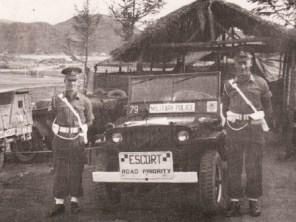 Official duty. Korea 1952