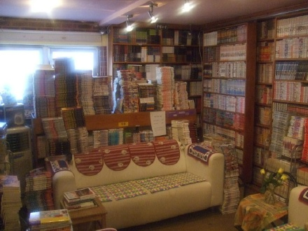 Book Village interior