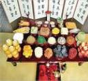 Chuseok feast
