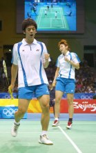 Lee Yongdae and Lee Hyojung