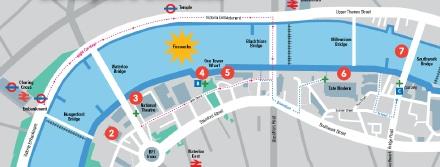 Thames Festival Map
