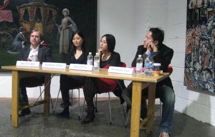 L to R: Jari Lager, Sunhee Choi, Eunice Yu, Seahyun Lee