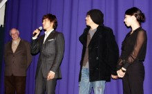 Tony Rayns, Lee Byung-hun, Kim Ji-woon and translator