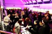 The Barbican cinema foyer