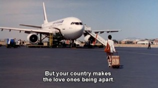 But your country makes the love ones being apart