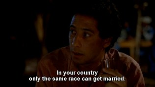 In your country only the same race can get married